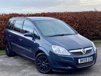 USED 2009 09 VAUXHALL ZAFIRA 1.6 LIFE 16V 5d  SPACIOUS FAMILY PEOPLE CARRIER
