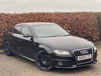 USED 2009 59 AUDI A4 2.0 TDI S LINE 4d  * COMPREHENSIVE SERVICE HISTROY *