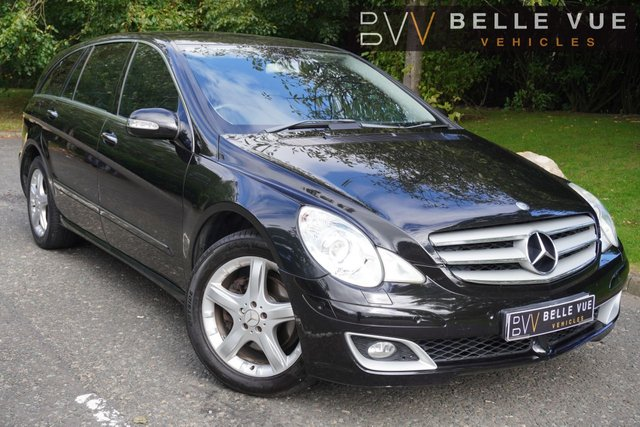 USED 2007 07 MERCEDES-BENZ R CLASS 3.0 R320L CDI SPORT 5d 224 BHP - FREE DELIVERY* *SAT NAV, REAR ENTERTAINMENT, ELECTRIC TAILGATE!*