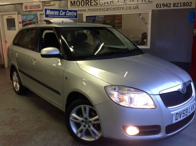 2009 59 SKODA FABIA 1.4 TDI  3 ESTATE