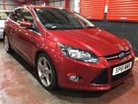 USED 2011 61 FORD FOCUS 1.6 TITANIUM 5d 148 BHP AIR CONDITIONING - FULL SERVICE HISTORY - SAT NAV