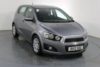 USED 2012 12 CHEVROLET AVEO 1.4 LTZ 5d 101 BHP 2 OWNERS with 7 Stamp SERVICE HISTORY