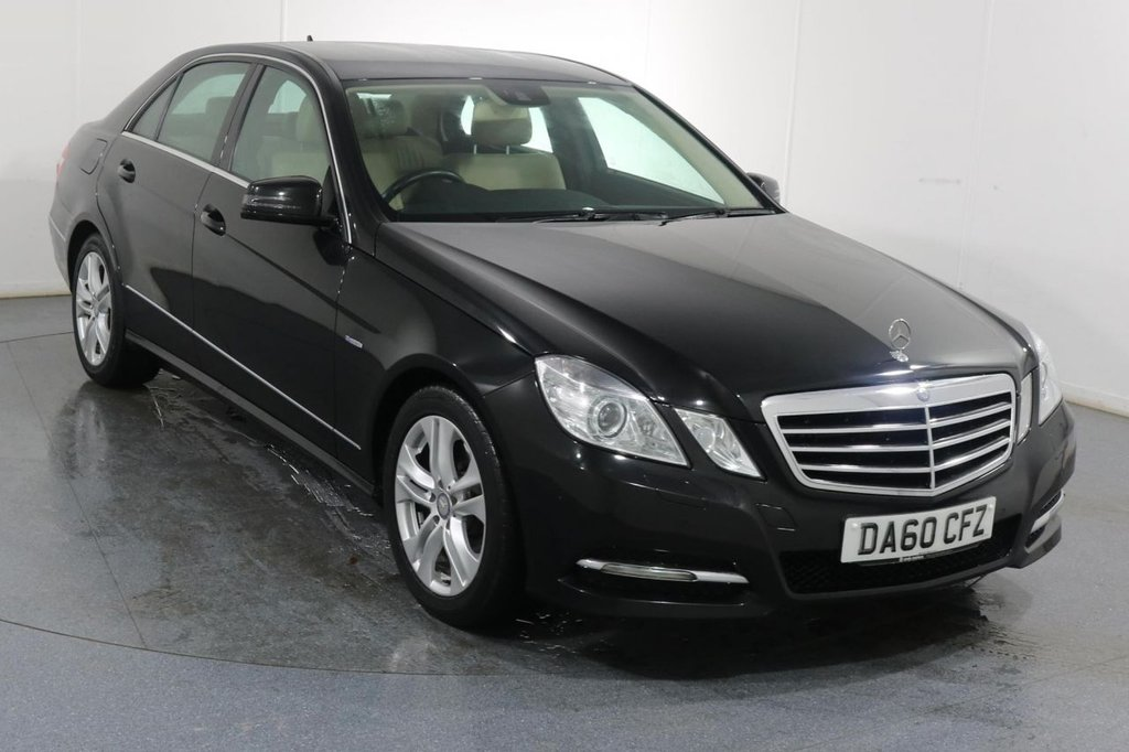 USED 2010 60 MERCEDES-BENZ E CLASS 3.0 E350 CDI BLUEEFFICIENCY AVANTGARDE 4d 265 BHP ONE DOCTOR OWNER From New with 8 Stamp MERCEDES SERVICE HISTORY and by ourselves when sold