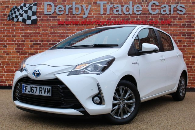 TOYOTA YARIS at Derby Trade Cars