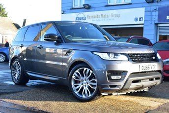 2015 LAND ROVER RANGE ROVER SPORT 4.4 SDV8 AUTOBIOGRAPHY DYNAMIC 5d 339 BHP AUTOMATIC  £39999.00