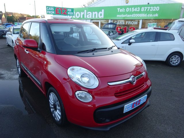 USED 2015 15 FIAT 500L 1.4 POP STAR 5d 95 BHP **CARS FROM £12 A WEEK**JUST ARRIVED **01543 877320