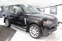 USED 2010 59 LAND ROVER RANGE ROVER 3.6 TDV8 VOGUE AUTO 271 BHP NEW SHAPE 11 STAMPS 20'S NAV