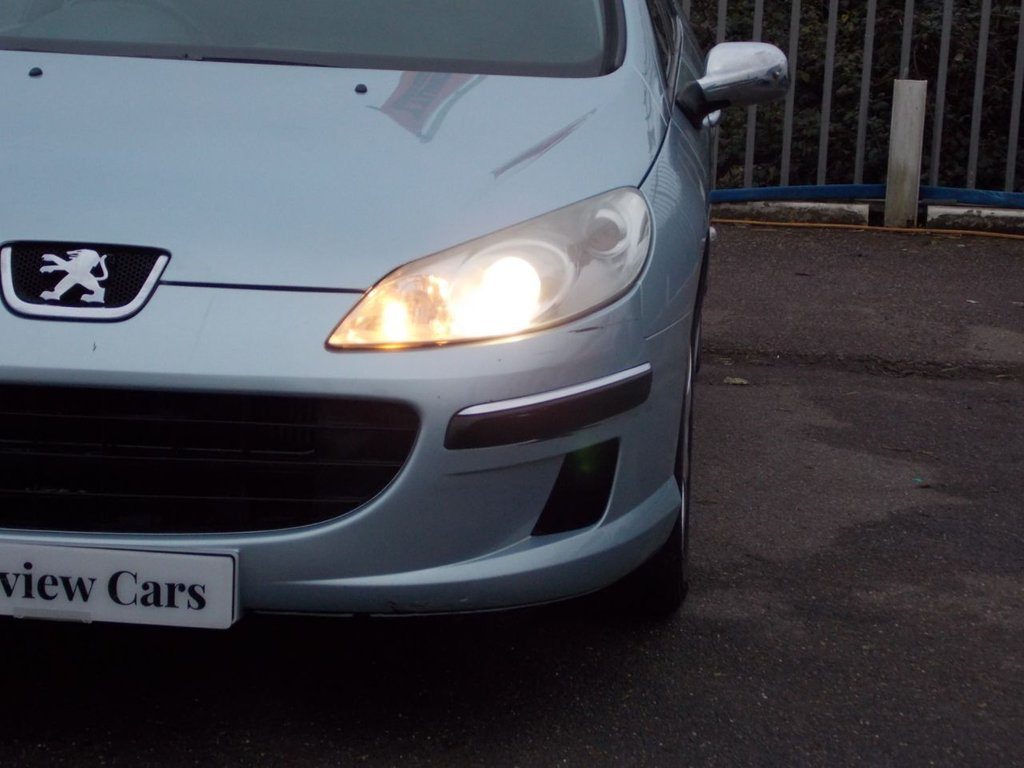 USED 2005 55 PEUGEOT 407 2.0 SW SE HDI 5d 135 BHP