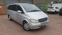 USED 2009 58 MERCEDES-BENZ VIANO 2.1 CDI EXTRA LONG AMBIENTE 5d 150 BHP EURO 6 ANY PART EXCHANGE WELCOME, COUNTRY WIDE DELIVERY ARRANGED, HUGE SPEC