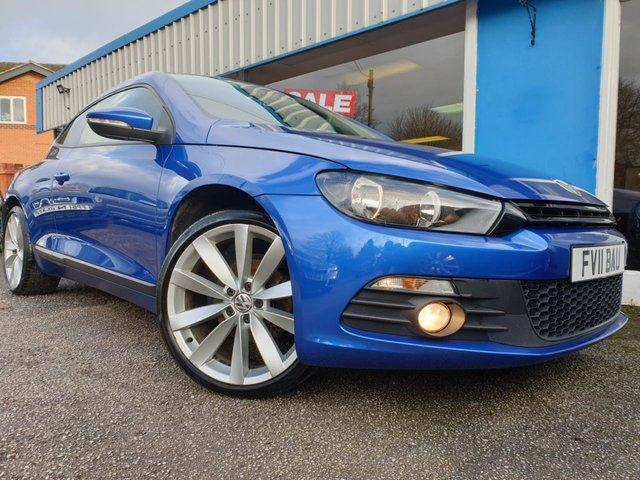 USED 2011 11 VOLKSWAGEN SCIROCCO 2.0 GT TDI BLUEMOTION TECHNOLOGY 2d 140 BHP