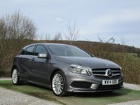 USED 2014 14 MERCEDES-BENZ A-CLASS 1.5 A180 CDI BLUEEFFICIENCY AMG SPORT 5d 109 BHP