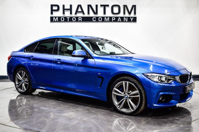 USED 2015 15 BMW 4 SERIES 3.0 435D XDRIVE M SPORT GRAN COUPE 4d 309 BHP