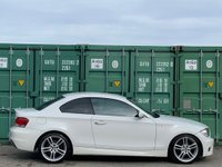 USED 2008 08 BMW 1 SERIES 3.0 125i M Sport 2dr StartStop/2Keys/PrivacyGlass
