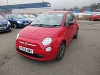 2012 FIAT 500 1.2 POP 3d 69 BHP £3295.00