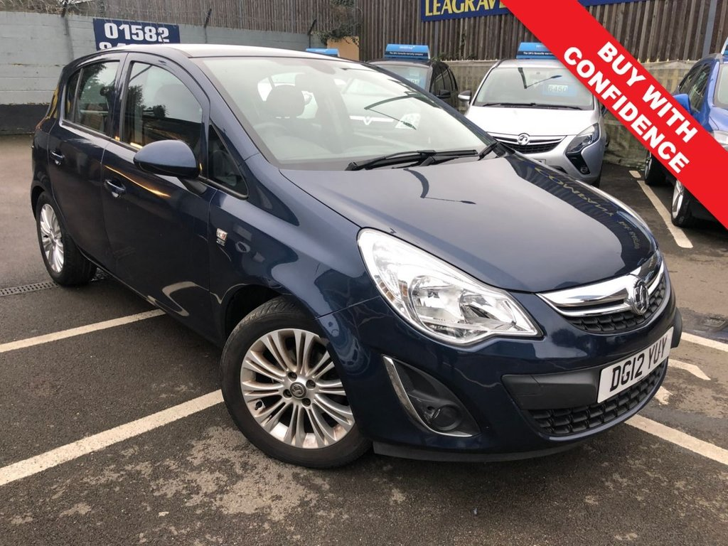 USED 2012 12 VAUXHALL CORSA 1.4 SE 5d 98 BHP AUTOMATIC + 12 MONTH MOT