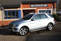 USED 2014 14 MERCEDES-BENZ M CLASS 2.1 ML250 BLUETEC SE 5d 204 BHP 1 LADY OWNER FULL SERVICE HISTORY!