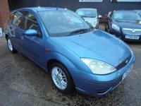 2002 FORD FOCUS 1.6 LX 5d 99 BHP £899.00