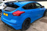 USED 2017 17 FORD FOCUS RS 2.3 5DR MOUNTUNE FPM375 REMAP/UPGRADE, 1 OWNER MOUNTUNE AXLE BACK EXHAUST & UPGRADED RECAROS
