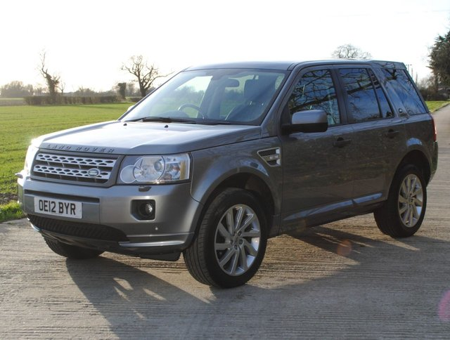 2012 12 LAND ROVER FREELANDER 2.2 SD4 HSE 5d 190 BHP