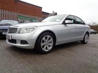USED 2009 09 MERCEDES-BENZ C CLASS 2.1 C220 CDI SE 4d 168 BHP DIESEL AUTOMATIC
