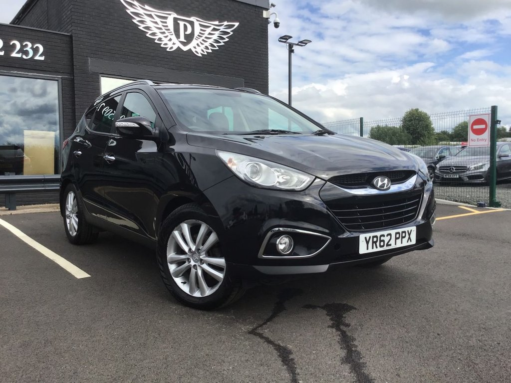 USED 2012 62 HYUNDAI IX35 2.0 PREMIUM CRDI 4WD 5d 134 BHP CLICK & RESERVE ON OUR WEBSITE NOW