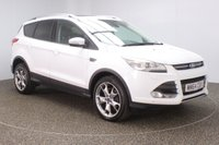 USED 2014 64 FORD KUGA 2.0 TITANIUM X TDCI 5DR 177 BHP 180 BHP SAT NAV FULL LEATHER PANORAMIC ROOF SERVICE HISTORY + HEATED LEATHER SEATS + PANORAMIC ROOF + PARKING SENSOR + BLUETOOTH + CRUISE CONTROL + CLIMATE CONTROL + MULTI FUNCTION WHEEL + XENON HEADLIGHTS + ELECTRIC SEATS + DAB RADIO + PRIVACY GLASS + ELECTRIC WINDOWS + ELECTRIC MIRRORS + 19 INCH ALLOY WHEELS