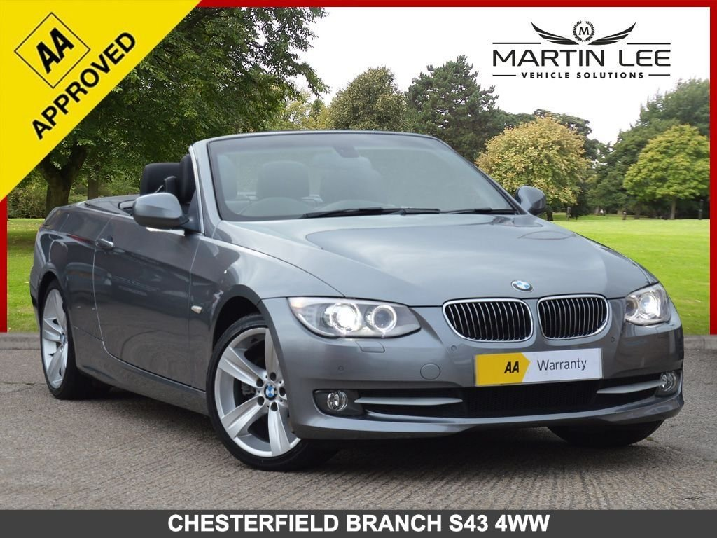 USED 2010 10 BMW 3 SERIES 3.0 325I SE 2d 215 BHP STUNNING LOW MILEAGE COUPE WITH SAT NAV BLUETOOTH+FSH