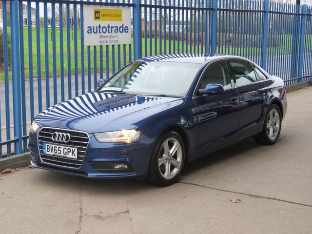 USED 2015 65 AUDI A4 2.0 TDI ULTRA SE TECHNIK 4d 161 BHP £20 tax, SATNAV, ULEZ COMPLIANT