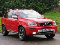 USED 2014 14 VOLVO XC90 2.4 D5 R-DESIGN AWD 5d 200 BHP UK's SAFEST VEHICLE! 7 SEATER!