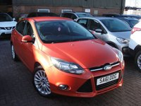 USED 2011 61 FORD FOCUS 1.6 TITANIUM 5d 124 BHP ANY PART EXCHANGE WELCOME, COUNTRY WIDE DELIVERY ARRANGED, HUGE SPEC