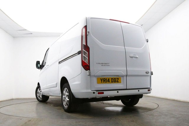 FORD TRANSIT CUSTOM at Georgesons