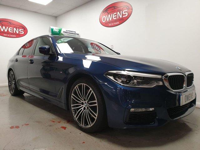 2019 68 BMW 5 SERIES 2.0 530I M SPORT 4d 248 BHP