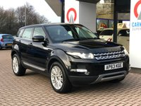 USED 2013 63 LAND ROVER RANGE ROVER EVOQUE 2.2 SD4 PRESTIGE 5d AUTO 190 BHP PAN ROOF | SAT NAV | LEATHER |