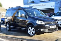 USED 2013 13 VOLKSWAGEN CADDY MAXI 1.6 C20 LIFE TDI 5d 101 BHP DSG AUTOMATIC MPV 7 SEATER EDITION with NO VAT NO DEPOSIT FINANCE AVAILABLE