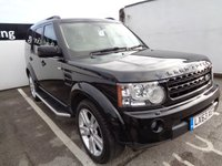 2013 LAND ROVER DISCOVERY 4 3.0 SDV6 HSE LUXURY 5d 255 BHP £18975.00