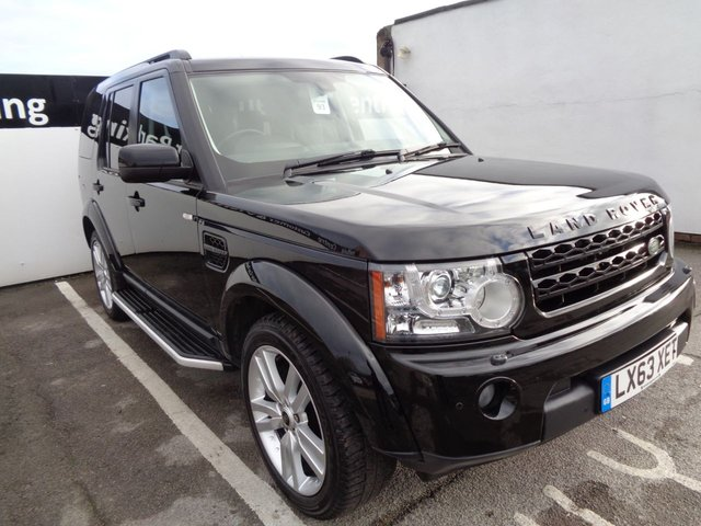 USED 2013 63 LAND ROVER DISCOVERY 4 3.0 SDV6 HSE LUXURY 5d 255 BHP 20 Inc Alloys 7 Seats Full Leather Trim Sat Nav Parking Sensors Privacy Glass Sunroof