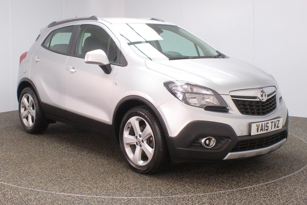 USED 2015 15 VAUXHALL MOKKA 1.6 TECH LINE CDTI S/S 5DR 134 BHP + SAT NAV + 1 OWNER  SERVICE HISTORY + £30 12 MONTHS ROAD TAX + PARKING SENSOR + BLUETOOTH + CRUISE CONTROL + CLIMATE CONTROL + DAB RADIO + MULTI FUNCTION WHEEL + ELECTRIC WINDOWS + ELECTRIC MIRRORS + 18 INCH ALLOY WHEELS