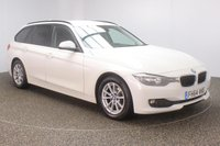 USED 2015 64 BMW 3 SERIES 2.0 320D EFFICIENTDYNAMICS BUSINESS TOURING 5d 161 BHP FULL LEATHER + SAT NAV + 1 OWNER FULL SERVICE HISTORY + £30 12 MONTHS ROAD TAX + HEATED LEATHER SEATS + SATELLITE NAVIGATION + PARKING SENSOR + BLUETOOTH + CRUISE CONTROL + CLIMATE CONTROL + MULTI FUNCTION WHEEL + DAB RADIO + ELECTRIC WINDOWS + ELECTRIC MIRRORS + 16 INCH ALLOY WHEELS