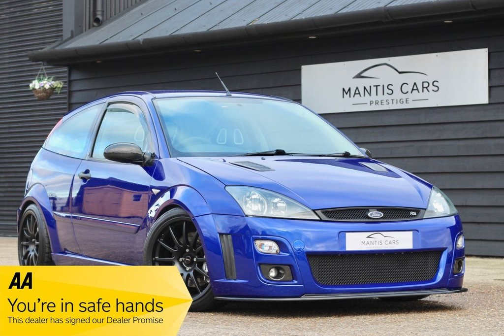 USED 2003 53 FORD FOCUS 2.0 RS 3d 215 BHP