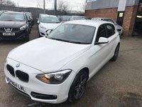 2014 BMW 1 SERIES 1.6 116I SPORT 5d 135 BHP £10999.00