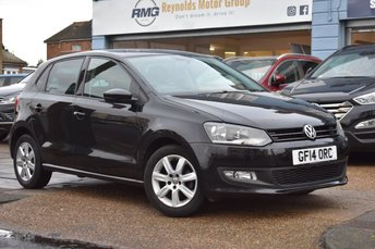 2014 VOLKSWAGEN POLO 1.2 MATCH EDITION 5d 59 BHP £6499.00