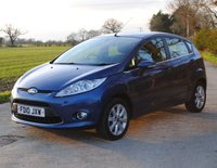 USED 2010 10 FORD FIESTA 1.6 ZETEC TDCI 5d 89 BHP www.suffolkcarcentre.co.uk - Located at Ilketshall