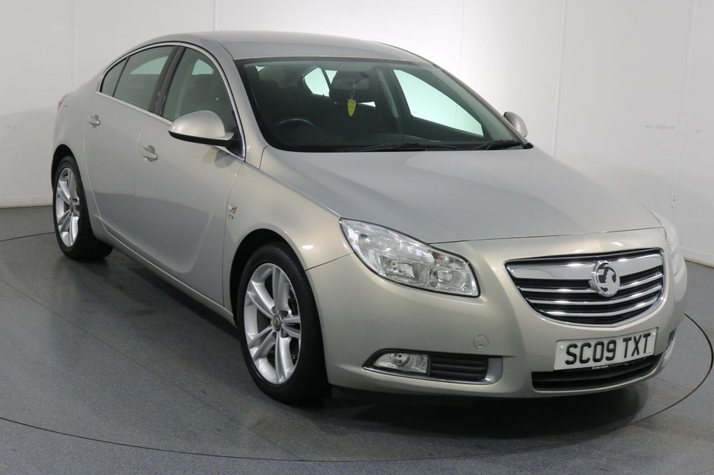 USED 2009 09 VAUXHALL INSIGNIA 1.8 SRI NAV 4d 140 BHP Demo and 2 OWNERS with 4 Stamp SERVICE HISTORY