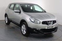 USED 2013 13 NISSAN QASHQAI 1.6 ACENTA 5d 117 BHP Demo and 2 OWNERS with 7 Stamp service history