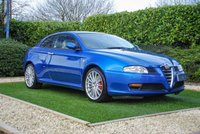 USED 2005 55 ALFA ROMEO GT 3.2 V6 24V 2d 240 BHP A One of a Kind, Exceptional Example of this Iconic GT Model with that All-Important 3.2 Litre, 24 Valve V6 Under the Bonnet. Presented in a Unique Colour Combination with the Exterior Colour 'Dijon Blue' being a Truly Informed Colour Choice with Records Today Suggesting Only Four 3.2's in this Colour Exist. Add to that a Premium Ivory Leather Interior, Factory OE Satellite Navigation and the Bose Speakers with Subwoofer System and you have a Very Special Car Indeed. Part of a Private Collection