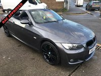 2007 BMW 3 SERIES  320I M SPORT CONVERTIBLE 168 BHP £4995.00