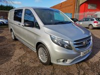 USED 2016 66 MERCEDES-BENZ VITO 119 CDi SPORT 5 SEAT CREW LONG DUALINER AUTOMATIC *HIGH SPEC* EURO 6 MODEL RARE 190 BHP WITH HIGH SPECIFICATION