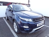 """USED 2014 14 LAND ROVER RANGE ROVER EVOQUE 2.2 SD4 DYNAMIC 5d 190 BHP 4x4 awd 4wd Satellite navigation half leather parking sensors privacy glass climate control  20 """" alloy wheels"""