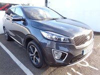 USED 2015 65 KIA SORENTO 2.2 CRDI KX-2 ISG 5d 197 BHP 4x4 awd 4wd Satellite navigation half leather privacy glass alloy wheels climate control  parking sensors supplied with full mot