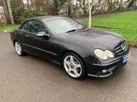USED 2005 05 MERCEDES-BENZ CLK 1.8 CLK200 KOMPRESSOR SPORT 2d 161 BHP NICE CONDITION MERCEDES CONVERTIBLE WITH FSH IN BLACK WITH BLACK LEATHER LOCAL CAR TAKEN IN P/X BY US